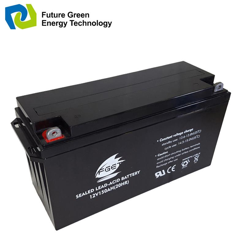 12V150ah Valve Regulated Solar Sealed Lead Acid Storage Battery