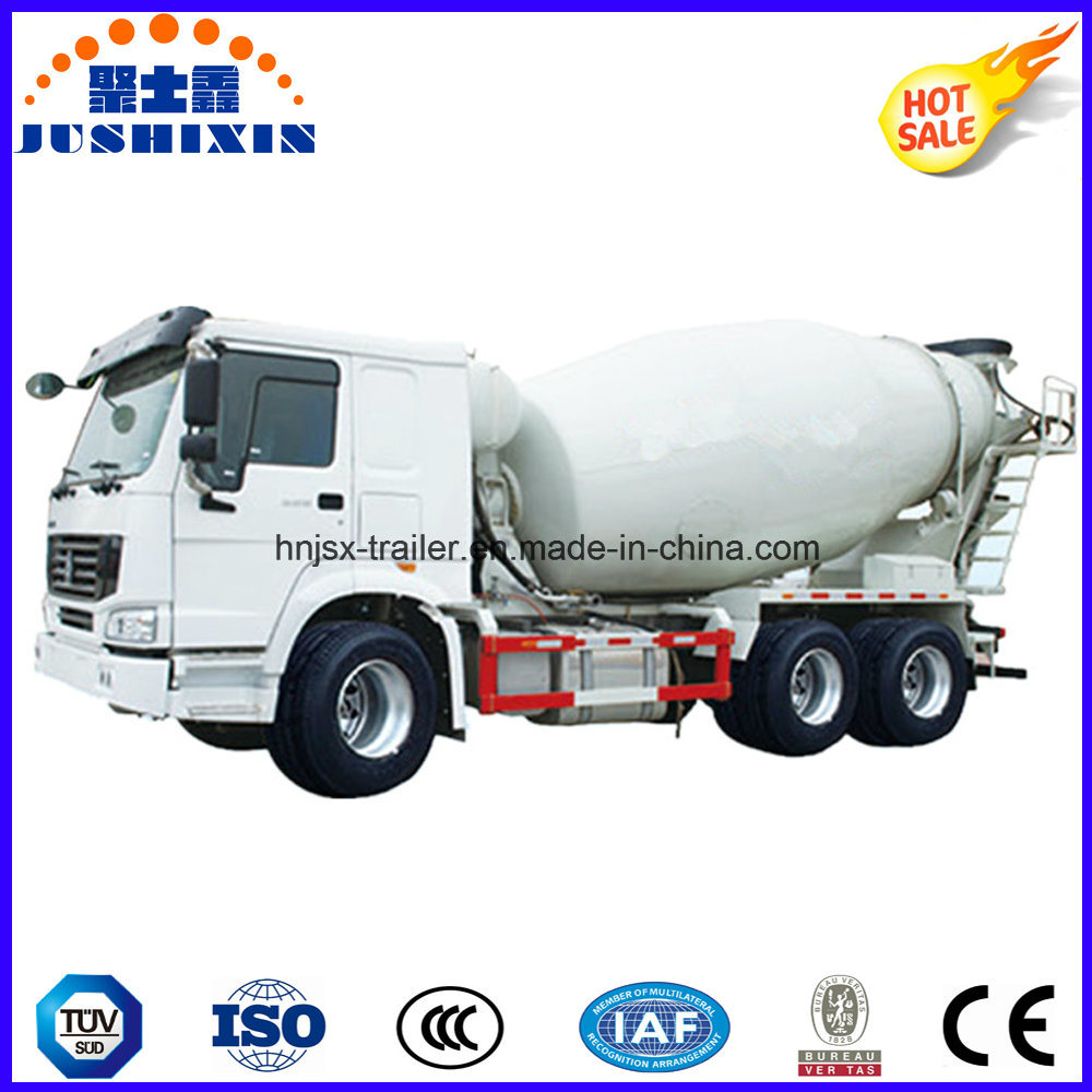 High Quality 9m3 12m3 6X4 Heavy Duty Concrete Mixer Truck with LHD or Rhd Drive