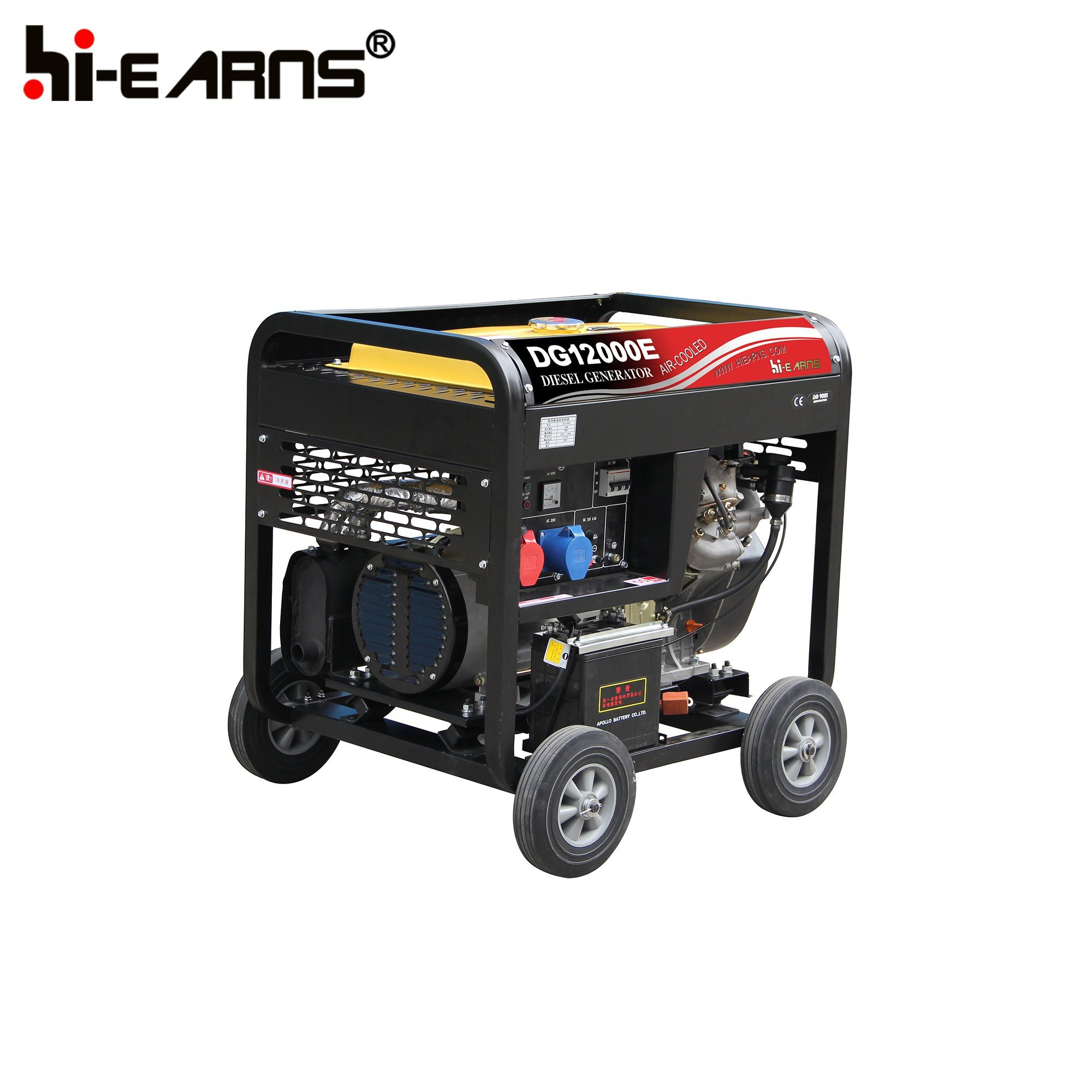 China 8 5kw Air Cooled Diesel Generator Set Portable Model