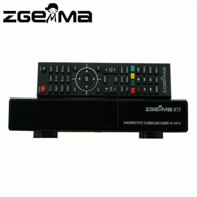 Zgemma H7s 4K Satellite Receiver with 2*DVB-S2X + DVB-T2/C