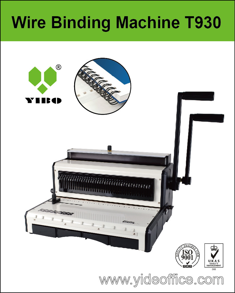 F4 Size Wire Binding Machine (T930)