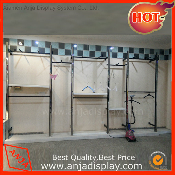 Retail Store Fixtures Garment Rack Store