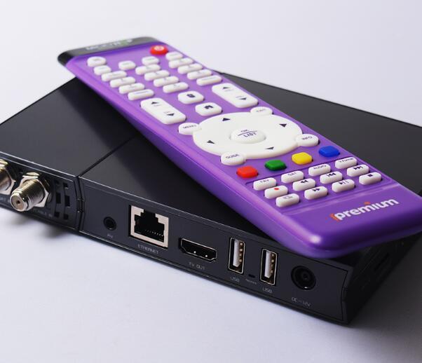 Ui Design TV Digital Box Hybird DVB and IPTV Set Top Box
