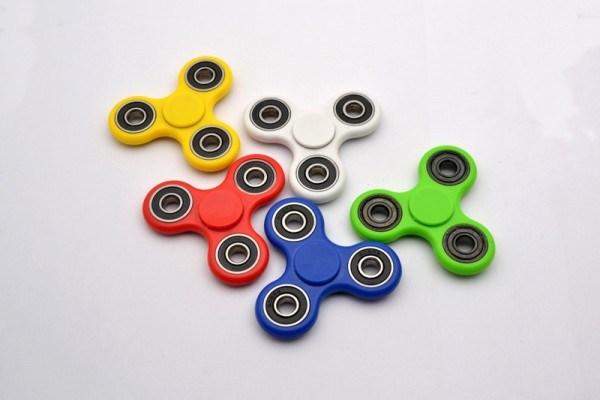 The Plastic Fidget Spinner, Finger Spinner Hand Spinner