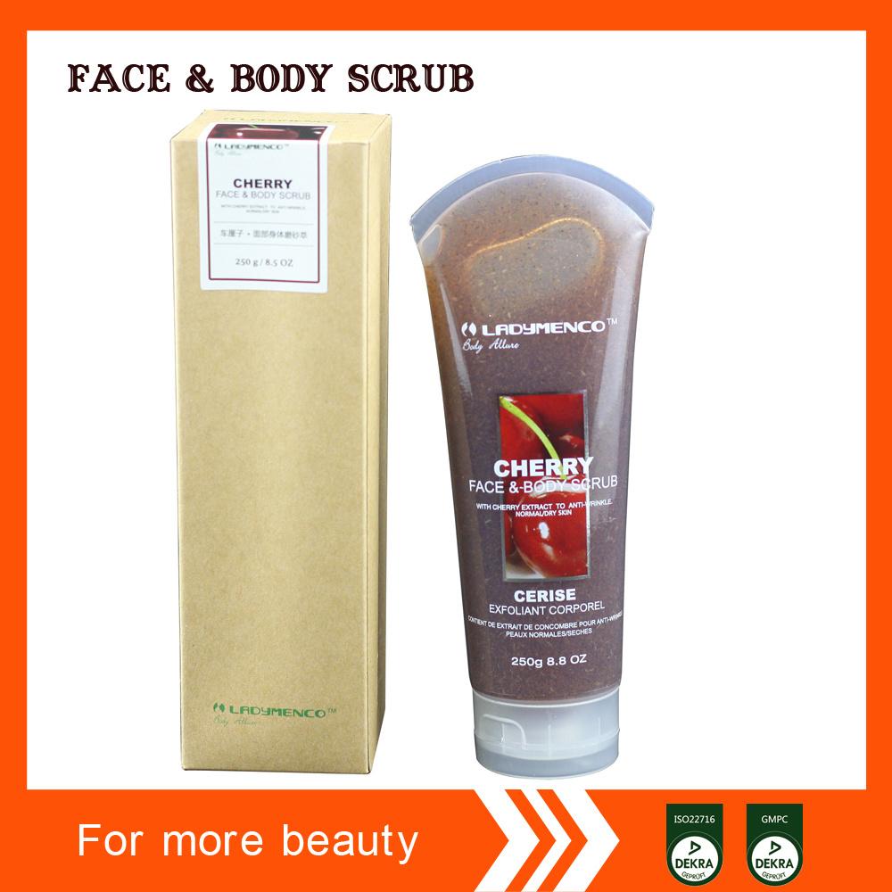 Fragrance Face and Body Scrub OEM
