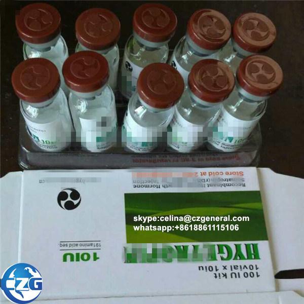 10iu Pharmaceutical Chemicals Bodybuilding Hormone Somatropin 191AA Gh Hyg