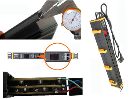 Socket PDU (XP-1u-P 19 Inch Installation)
