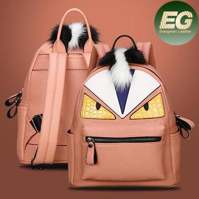 2017 Popular Wholesale Handbags Chrildren Bags Designer School Bag Leather Monster Travel Bag Chrildren Backpack (SY7894)