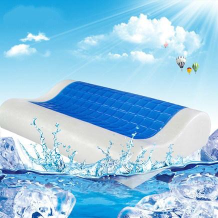 Factory Direct Sale Memory Foam Bread Shape Pillow Neck Protection Health Pillow