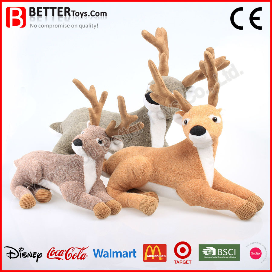Promotion Gift Stuffed Animal Lifelike Soft Deer Plush Toy