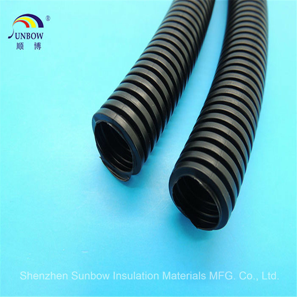 Split Loom Wire Flexible Tubing Wire Conduit Polyethylene Hose PA PP