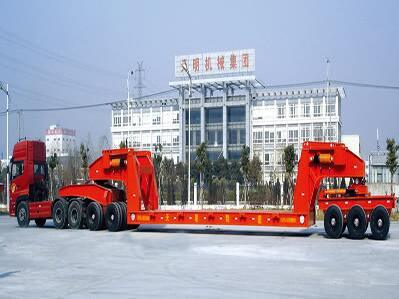 120t Conveyor Special Adapted Trailer and Semi Trailer