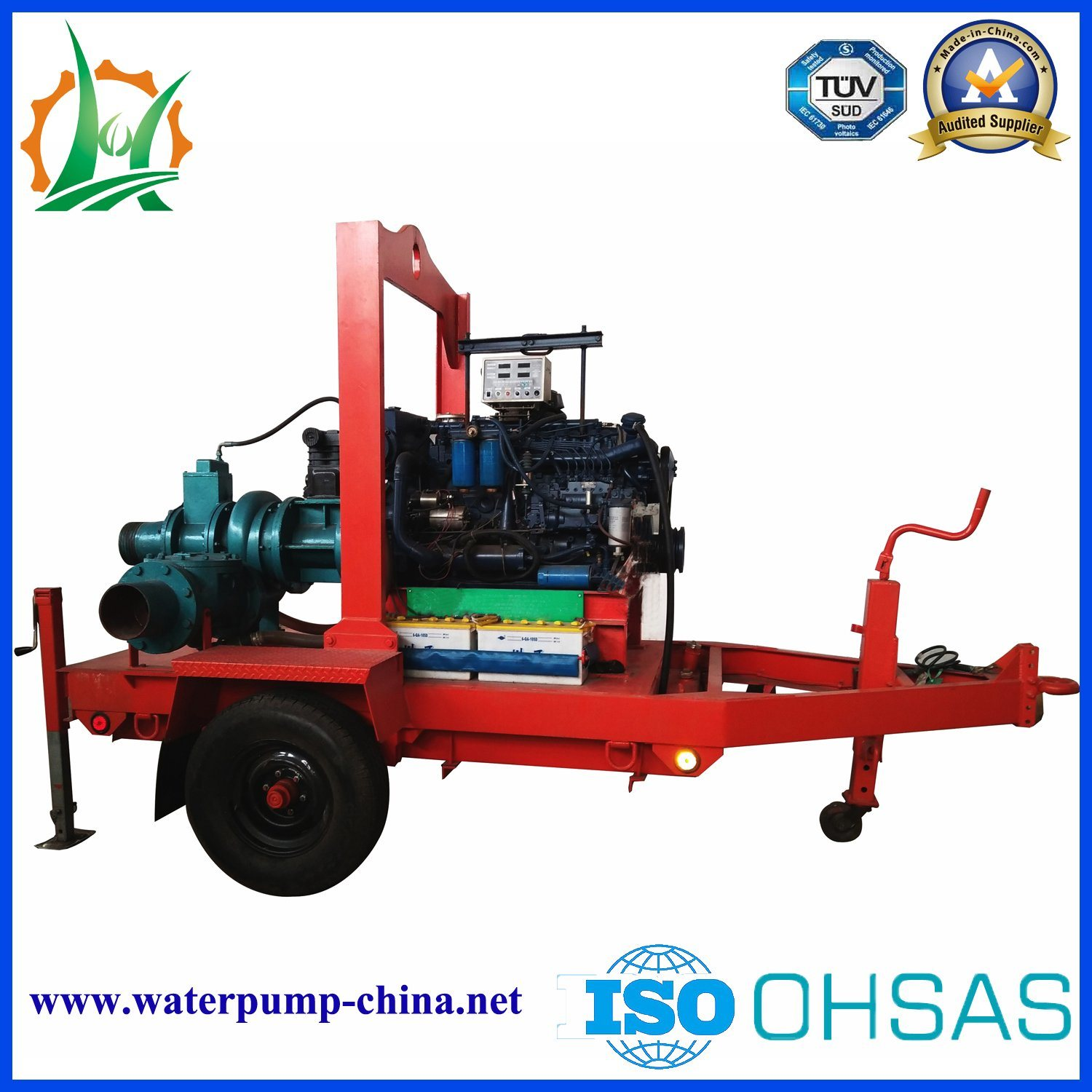 China Manufacturer Big Size Centrifugal Pump for Mine Metallugical System