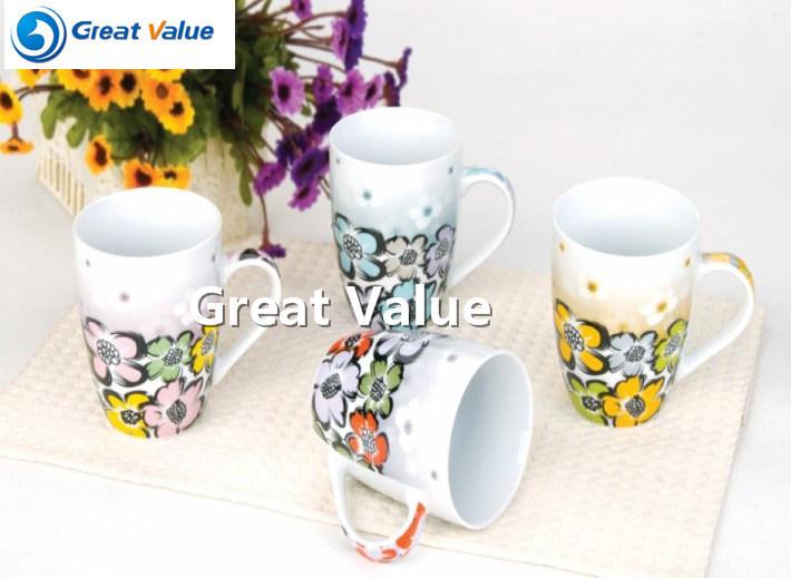 Logo Printing Ceramic Mug Cup