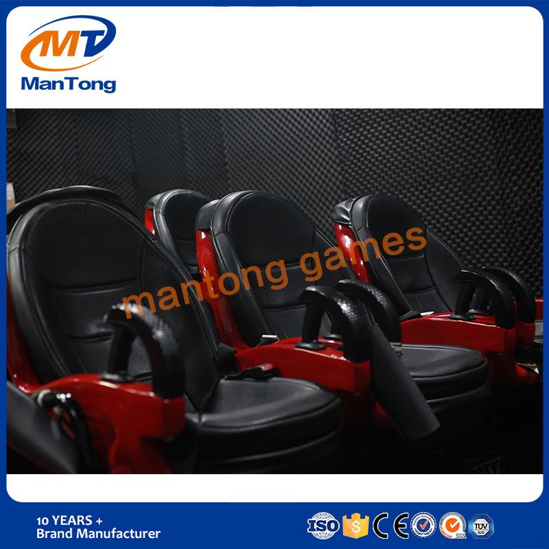 Mantong Hydraulic/Electronic Theme Park Luxury Seats 5D Cinema