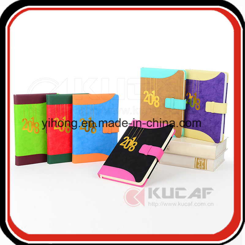 Customize Paper Note Book Leather Diary Planner 2018