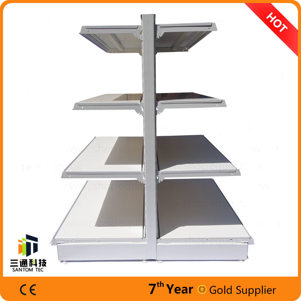 European Style Supermarket Gondola Shelf