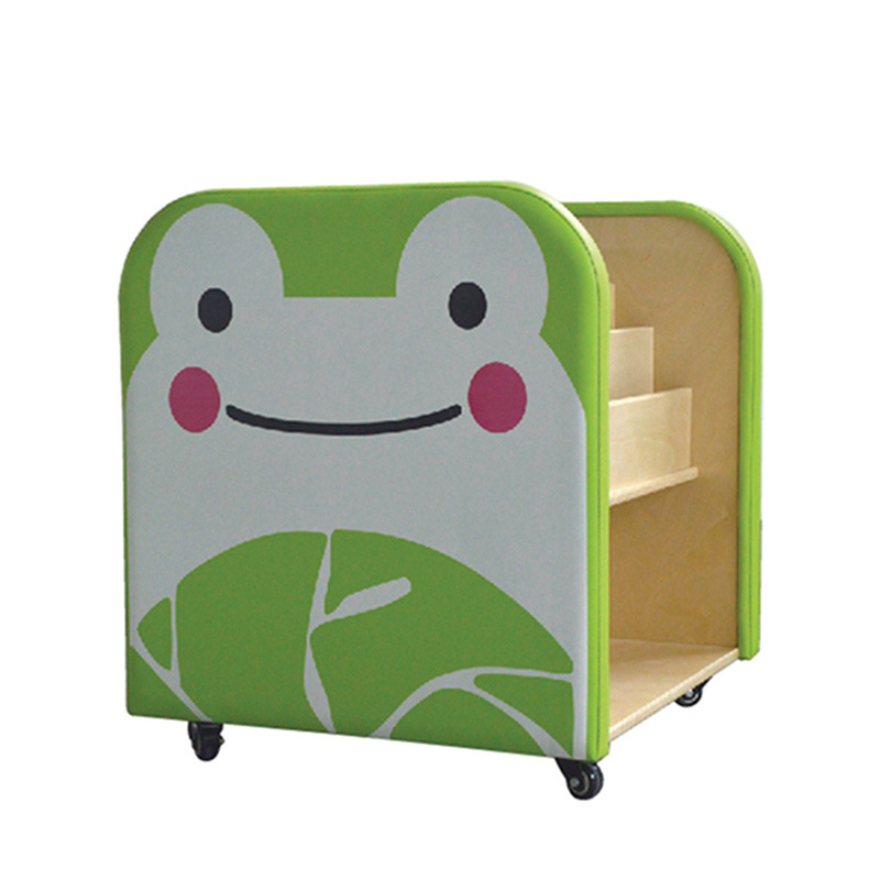 Cartoon Style Bookshelf Children Furniture