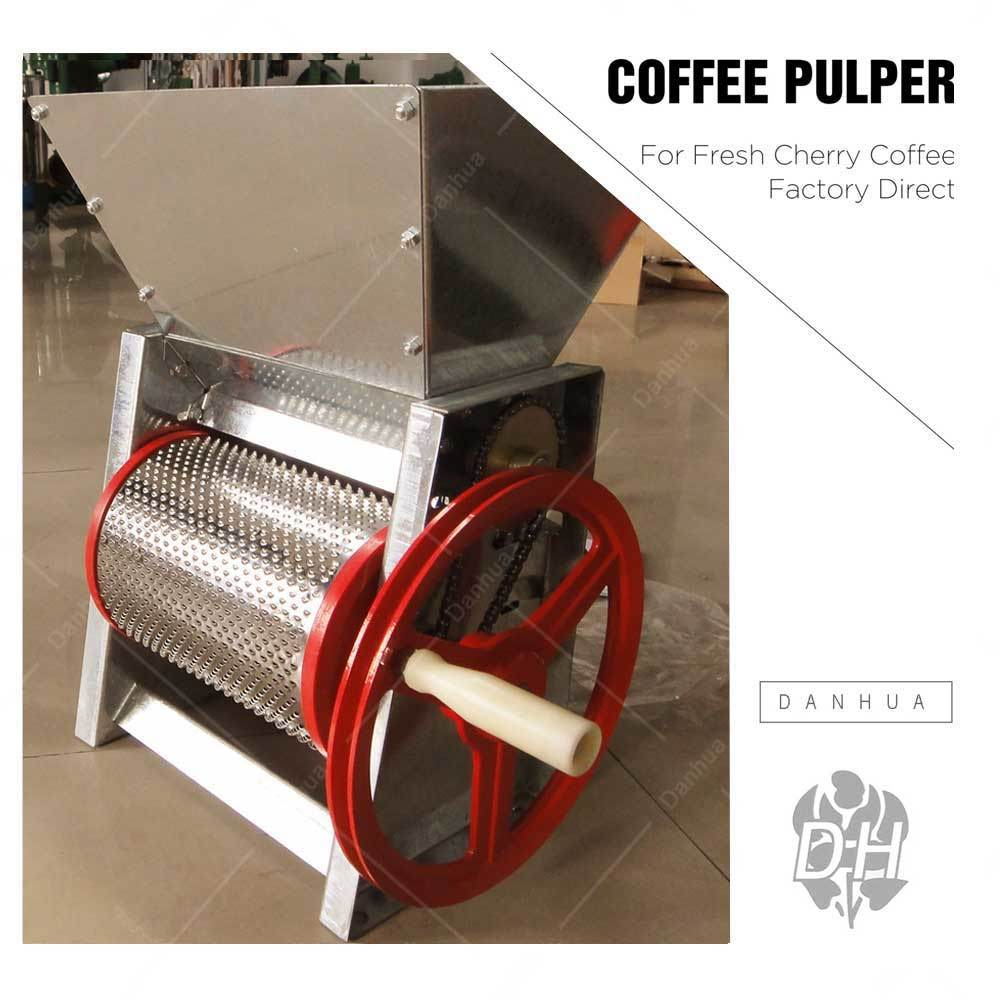 Manual Coffee Bean Pulper / Fresh Cherry Coffee Pulping Machine (BP-120#)