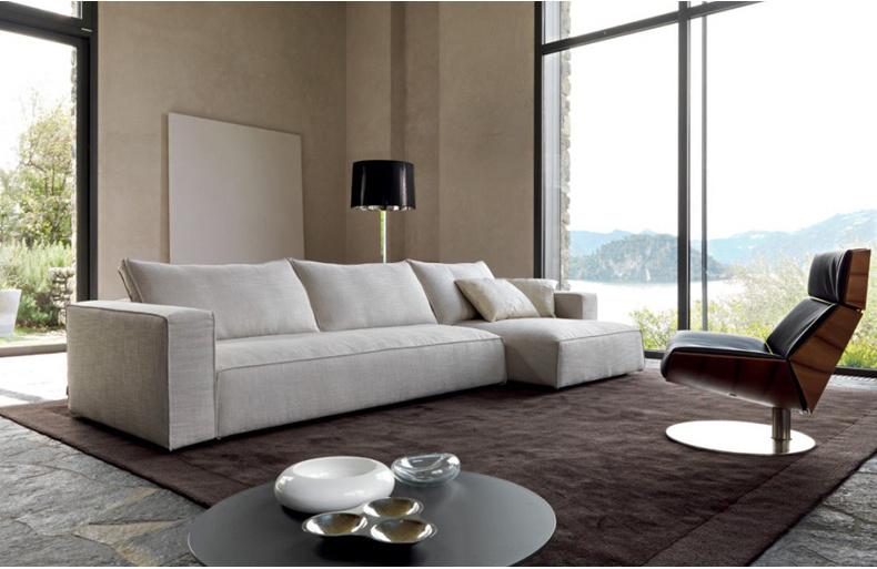 Living Room Furniture Fashion L Shape Sectional Fabric Sofa (corner sofa)
