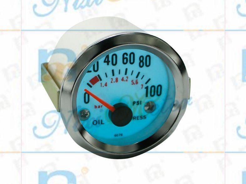 "2"" 52mm 0-100 Oil Pressure Gauge with Cold Light"