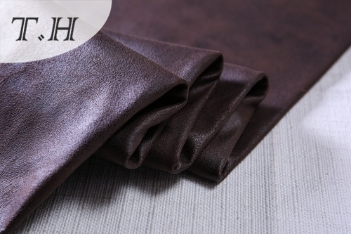 Hot Stamping Uphostery Fabric Suede Fabric for Sofa and Furniture
