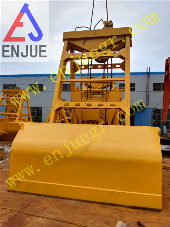 Chinese Grab Single Hook Hydraulic Clamshell Grab for Vessel Crane with Short Delivery