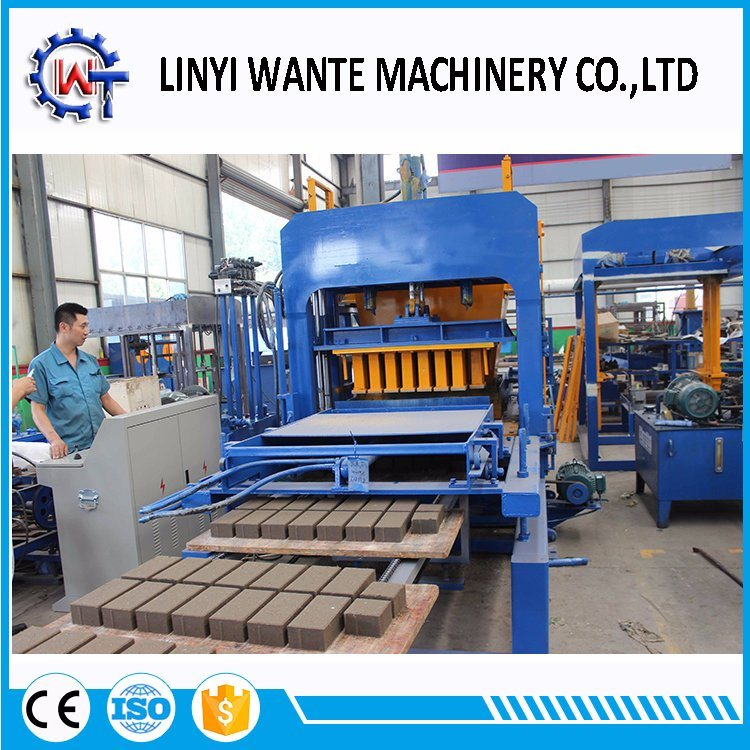 Qt4-15c Fly Ash Brick /Cement Brick Block Making Machine Price