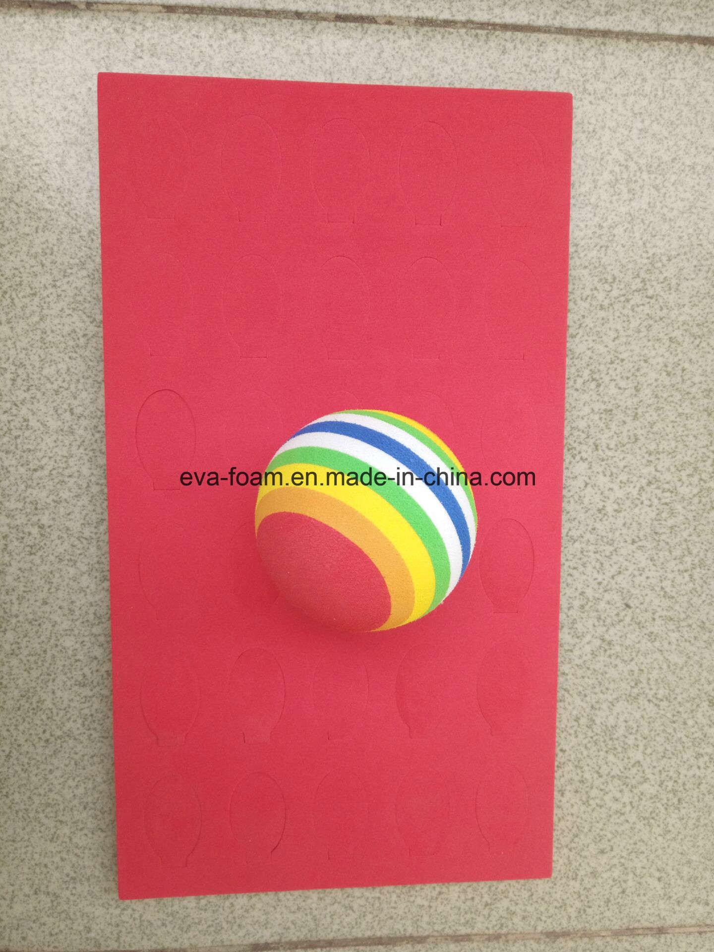 Yellow Color High Elastic EVA Foam Ball EVA Large Foam Balls