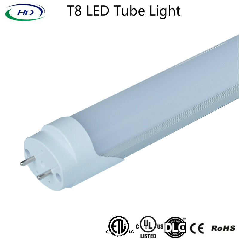 10W T8 Electronic & Magnetic Ballast Compatible LED Tube Light