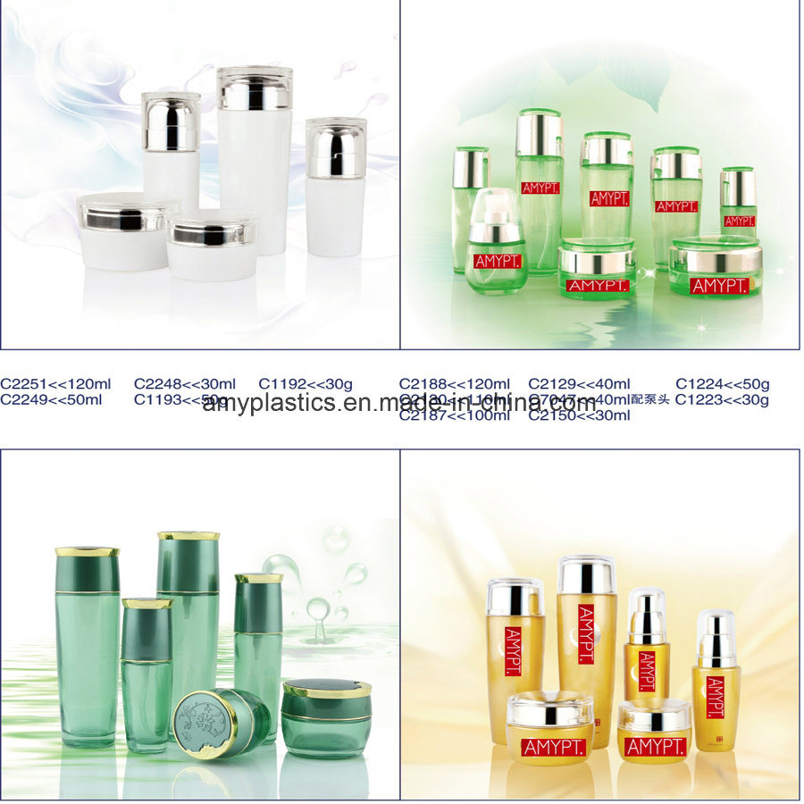 Bottle for Facial Care Packaging