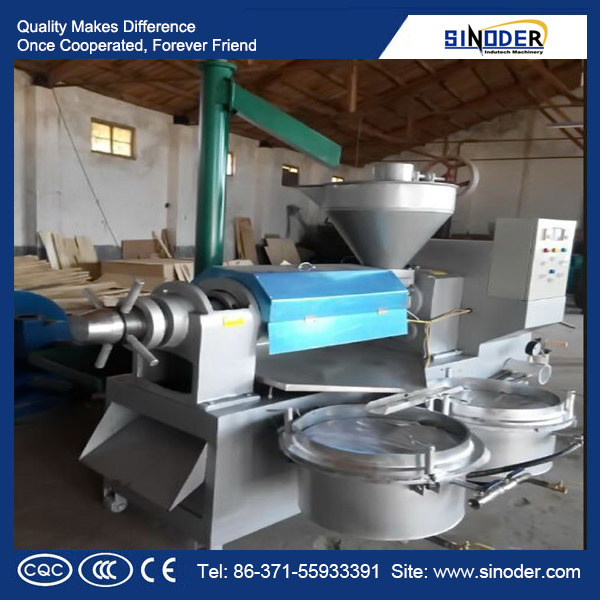 Automatic Sesame Oil Expeller Cotton Seeds Screw Oil Press Machinery Factory Coconut Oil Hydraulic Oil Mill Plant Palm Oil Extracting Machine Oil Refinery