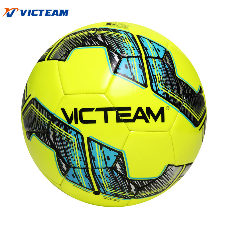 Vivid Machine-Stitched 3.5mm TPU EVA Soccer Ball