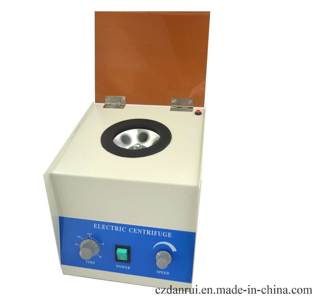 Cheap Lab 6 Tubes Centrifuge for Blood