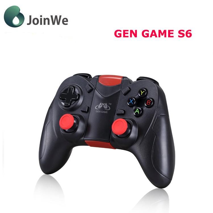 Gen Game S6 Wireless Bluetooth Gamepad Bluetooth 3.0 Joystick Game Controller