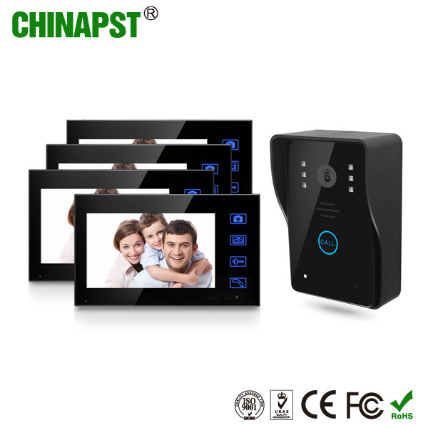 Color Waterproof Wireless Video Doorbell with Photo Taking Function (PST-WVD07T)
