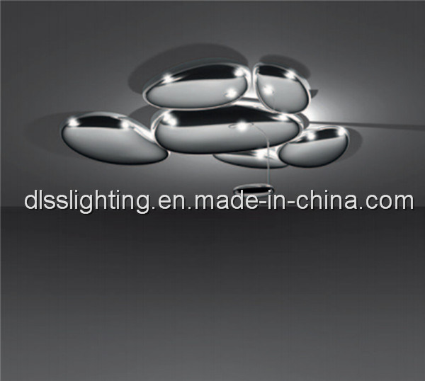 Contemporary Metal Acrylic LED Ceiling Lights for Hotel Projects