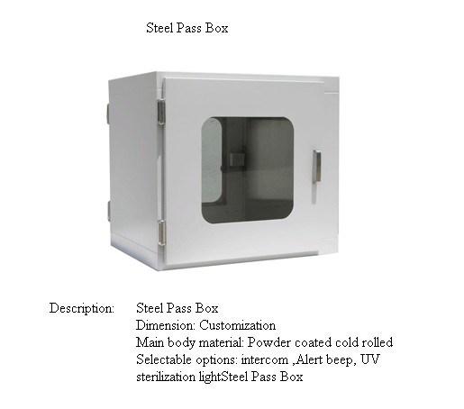 Powder Coated Pass Box