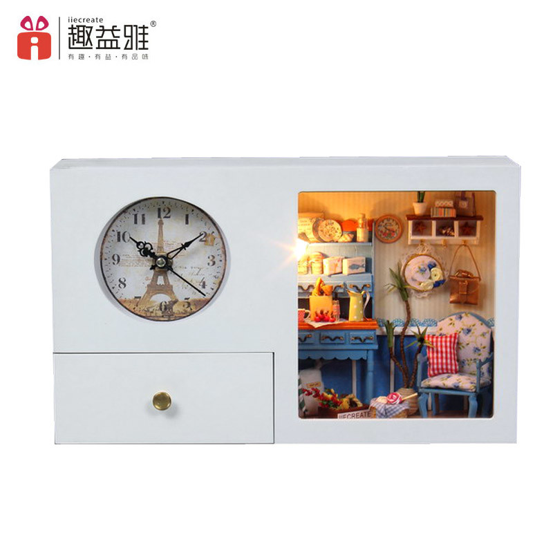 2017 Functional Wooden Doll House Home Decoration