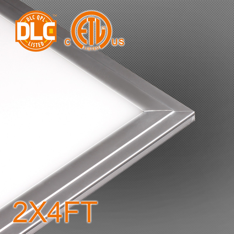 2X4FT 50W Dimmable LED Panel 5000lm -6500lm, 5 Year Warranty