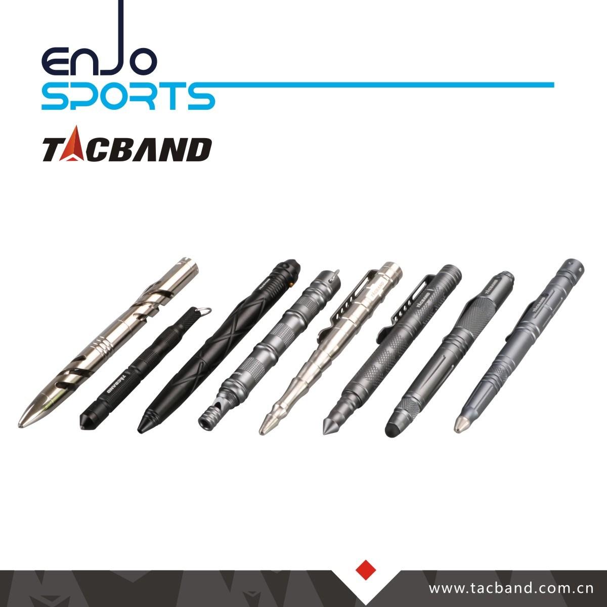 Tp06 Essential Tactical Pen 6061-T6 Aluminum Gun Smoke