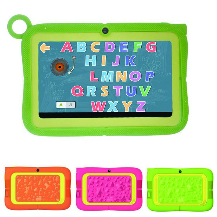 2017 Children Tablet 7 Inch Android 5.1 Rk3126 Qual Core Kids Tablet