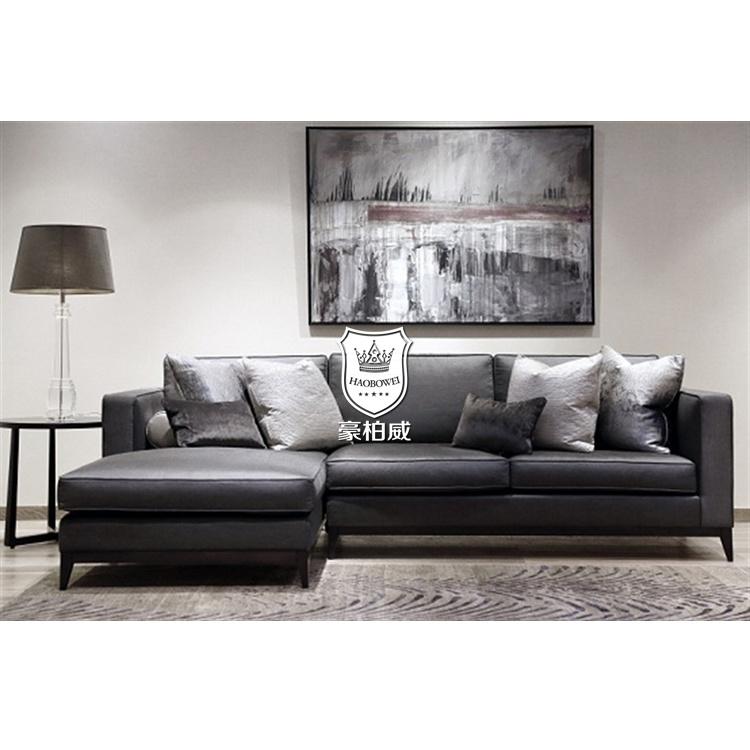 Modern L Shape Furniture Living Room Sofa Set