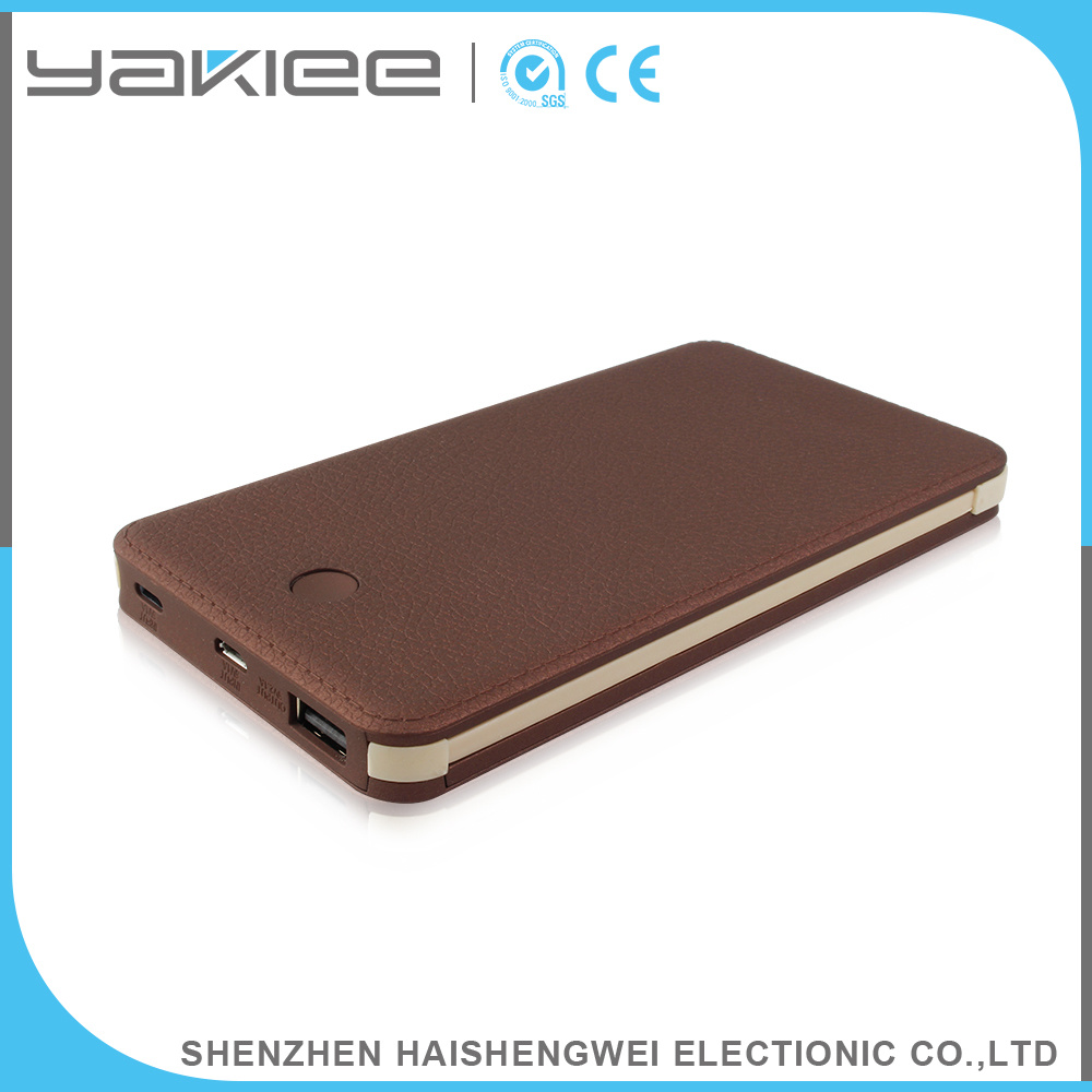 Li-Polymer 8000mAh Portable Mobile Power Bank