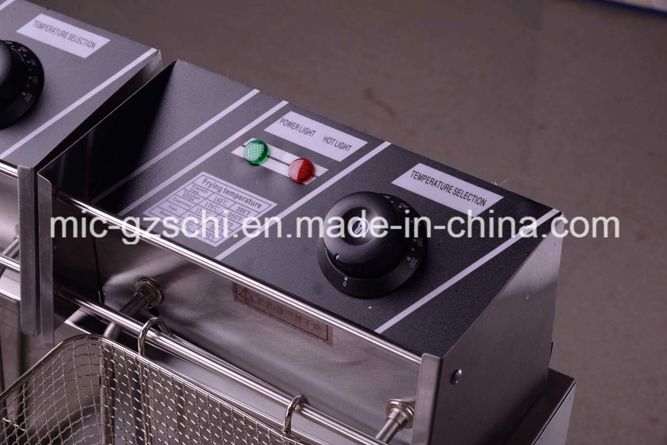 Stainless Steel Deep Fryer Chicken Deep Fryer Machine for Wholsale