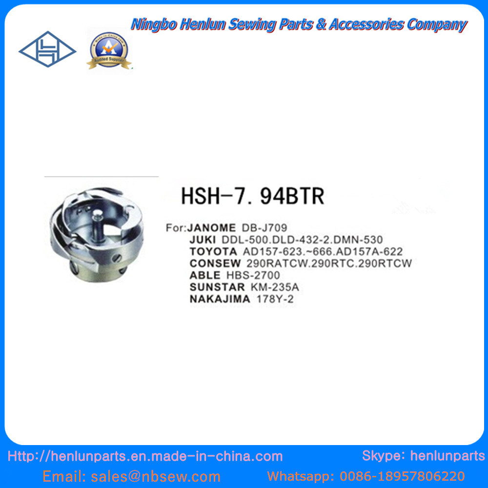 Chinese Supplier of Sewing Machine Parts for Hook (7.94BTR)