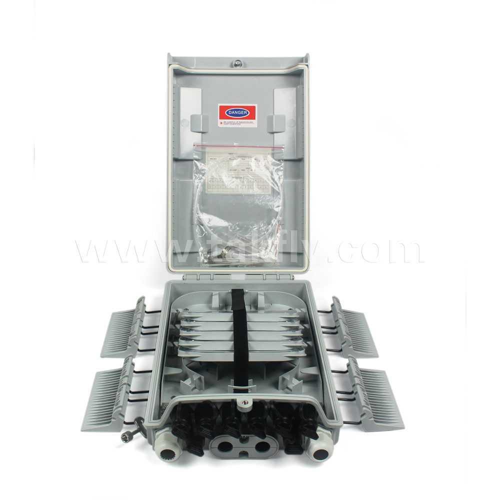 FTTH Waterproof 8 Cores Fiber Optic Splitter Box/Distribution Box