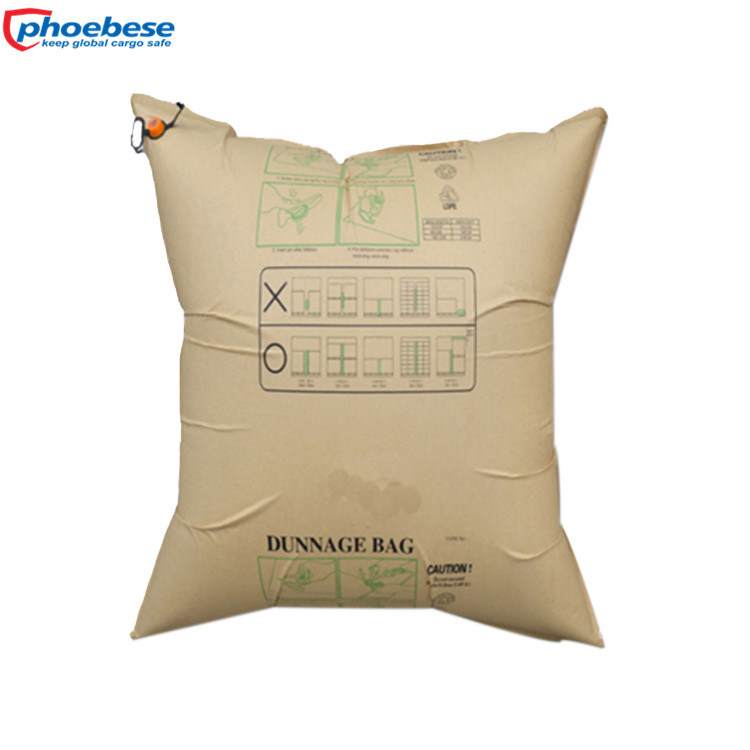 SGS Recyclable Transportation Buffer Air Dunnage Bag for Container Gap