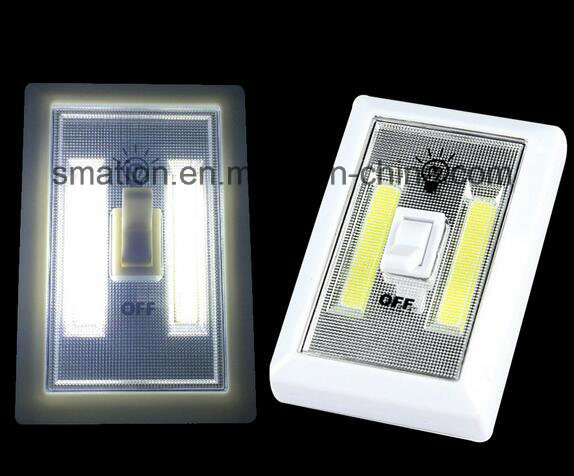 AAA Battery LED Wardrobe Chest Armoire Cabinet Battery Switch Light