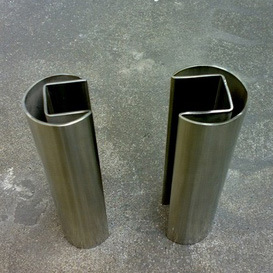 AISI304/316 Stainless Steel Slot Pipe
